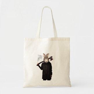 Evil Rabbit Tote Bag