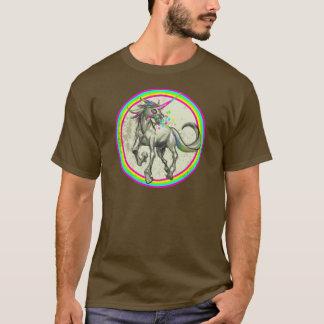 evil rabid unicorn with rabies T-Shirt