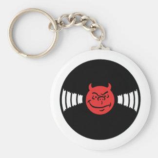 Evil Record Key Chains