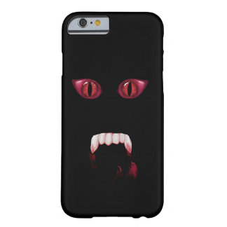 Evil Red Demon Eyes & Bloody Vampire Fangs Barely There iPhone 6 Case