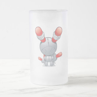 Evil red-eared Rabbit doll Mugs