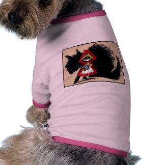 Evil Red Riding Hood Doggie Shirt