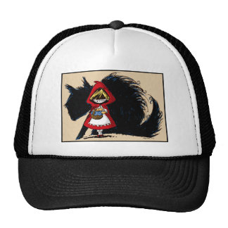 Evil Red Riding Hood Trucker Hat