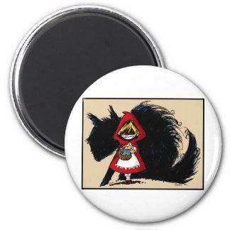 Evil Red Riding Hood Magnet