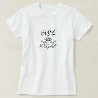 'Evil Regal' T shirt