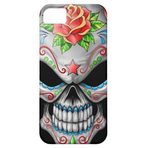Evil Rose Sugar Skull iPhone SE/5/5s Case
