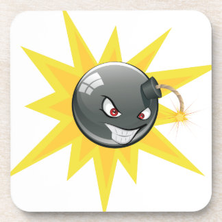 Evil Round Bomb Coaster