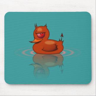 Evil Rubber Duck Mouse Pad