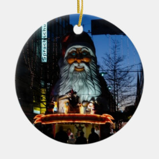 Evil Santa - Hamburg Germany Ceramic Ornament