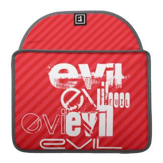 Evil; Scarlet Red Stripes MacBook Pro Sleeve