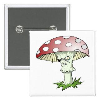 Evil Shroom Pin