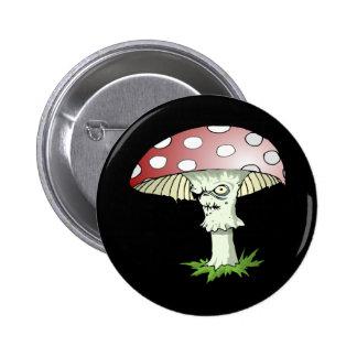 Evil Shroom Pinback Buttons