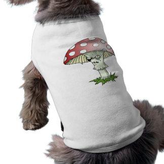 Evil Shroom Dog T Shirt
