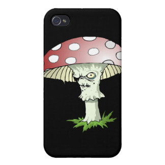 Evil Shroom iPhone 4/4S Cases