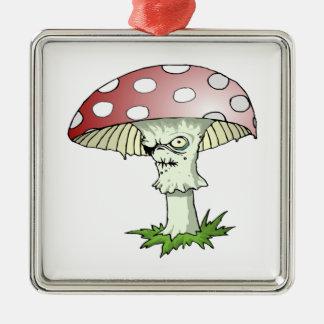 Evil Shroom Christmas Tree Ornament