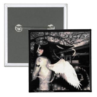 Evil Side Angel Pinback Buttons