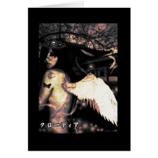 Evil Side Angel Card