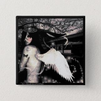 Evil Side Angel Pinback Button
