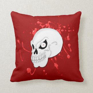 Evil Skull Pillow
