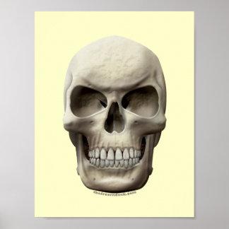 Evil Skull Print