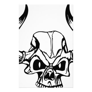 Evil Skull Stationery