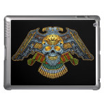 Evil Skull with Guns and Bullets by Al Rio iPad Cover