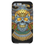 Evil Skull with Guns and Bullets by Al Rio Tough iPhone 6 Case