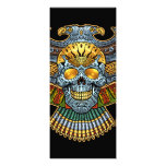Evil Skull with Guns and Bullets by Al Rio Personalized Invitation