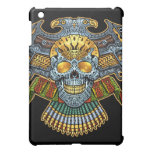 Evil Skull with Guns and Bullets by Al Rio iPad Mini Cover