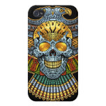 Evil Skull with Guns and Bullets by Al Rio iPhone 4/4S Cases