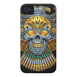Evil Skull with Guns and Bullets by Al Rio iPhone 4 Case-Mate Case