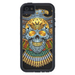 Evil Skull with Guns and Bullets by Al Rio iPhone 5 Cases
