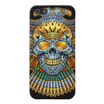Evil Skull with Guns and Bullets by Al Rio iPhone 5 Cover