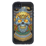 Evil Skull with Guns and Bullets by Al Rio iPhone SE/5/5s Case