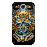 Evil Skull with Guns and Bullets by Al Rio Samsung Galaxy S4 Cases