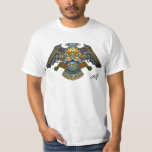 Evil Skull with Guns and Bullets by Al Rio Shirt