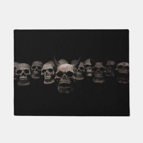 Evil Skulls Doormat