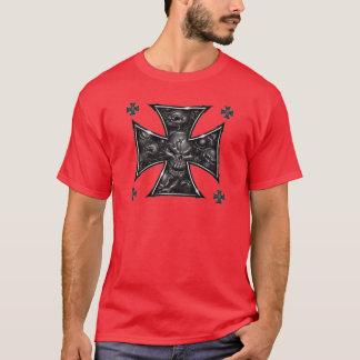 Evil Skulls Iron Cross T-Shirt