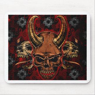 Evil Skulls Mouse Pad