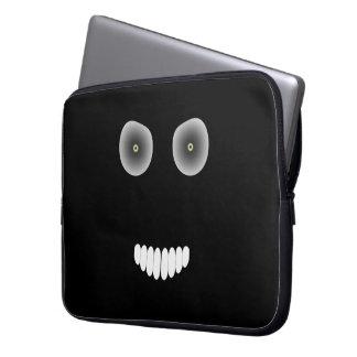 Evil Smile Laptop Sleeve