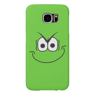 Evil Smiley Face Green Samsung Galaxy Case