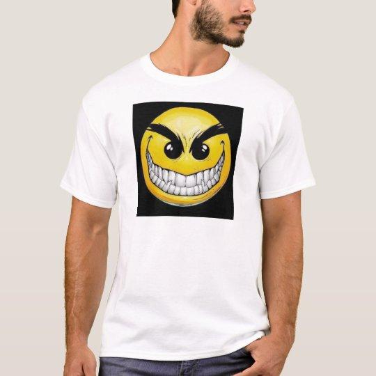Evil smiley face T-Shirt
