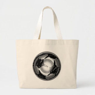 EVIL SOCCER BALL CANVAS BAGS
