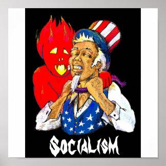evil, Socialism Poster