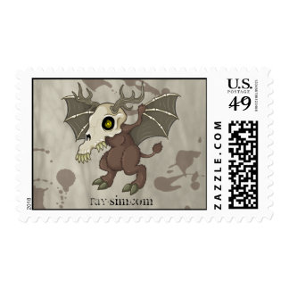 Evil Spirit Guide Stamp