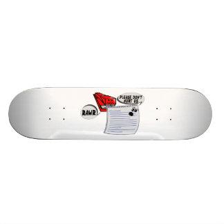 Evil Stapler Skateboard