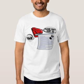 Evil Stapler T Shirt