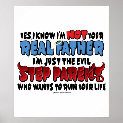 Evil Step Dad Print
