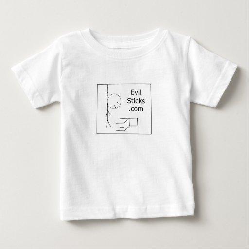 Evil Sticks Logo T-shirt