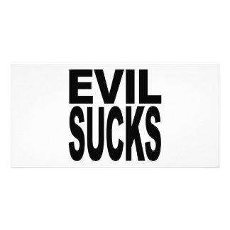Evil Sucks Card